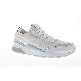 Puma RS-0 Core 36960103 Mens White Leather Mesh Casual Low Top Sneakers Shoes