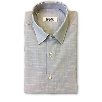 Ingram shirt in blue and white lines pattern