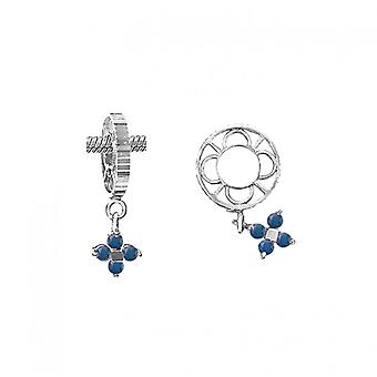 Storywheels Silver With Sapphire Dangle CharmS010S