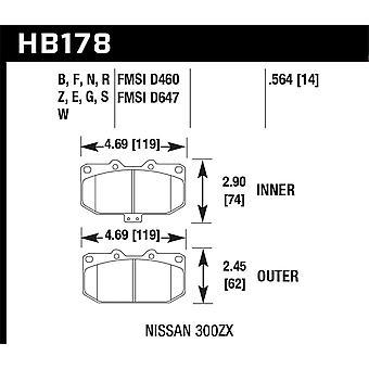 Hawk Performance HB178B.564 HPS 5.0