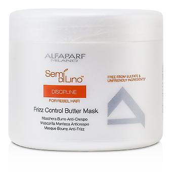 AlfaParf Semi Di Lino disiplin Frizz kontroll smør maske (For Rebel hår) 500ml / 17.28 oz