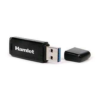 Hamlet xzp16gbu3 usb stick 3.0 16gb color negro
