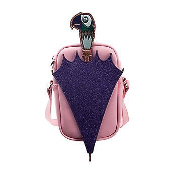 Mary Poppins Shoulder Bag Glitter Umbrella new Official Disney Pink