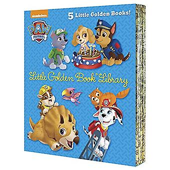 Paw Patrol Little Golden Book Library (Paw Patrol) by Various - 97815