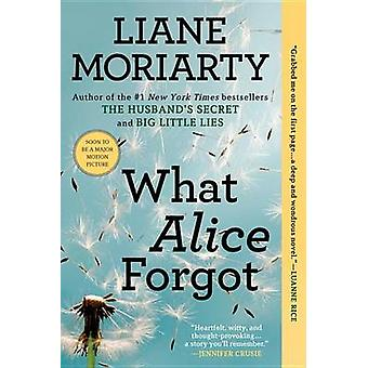 What Alice Forgot by Liane Moriarty - 9780425247440 Book