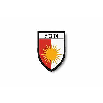 Patch Ecusson Termocollant Edge Brode Flag stampe Yazidi Yezidi