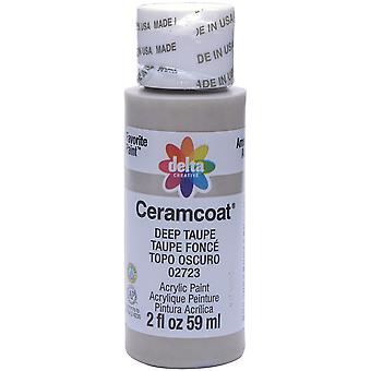 Ceramcoat Acrylic Paint 2oz-Deep Taupe 2000-2723
