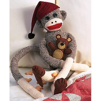 Peejay Sock Monkey Kit 21
