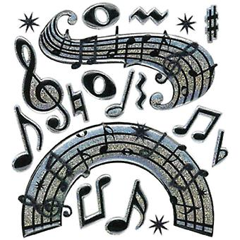 Jolee's Boutique Dimensional Stickers Music Notes E5020244