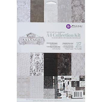 Prima Marketing collectie Kit A4-Salvage District 583729