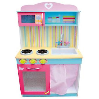 Import Wooden Kitchen (Toys , Home And Professions , House , Playkitchen)
