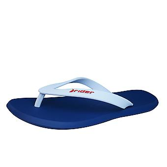 Rider Ran Mens Flip Flops / Sandals - Navy White