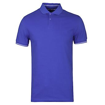 Bleu vif Hackett Sport Slim Fit Polo Shirt