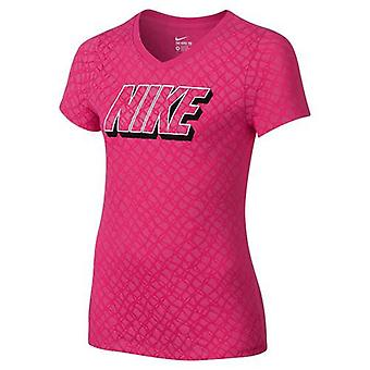 Nike Lynx allover print T-Shirt girls 807429-616