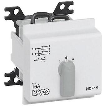 Changeover switch 16 A 2 x 30 ° Grey BACO BANDF15 1 pc(s)