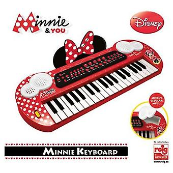 Reig Minnie And You: Keyboard With Conex.Y Mp3 Audio Output
