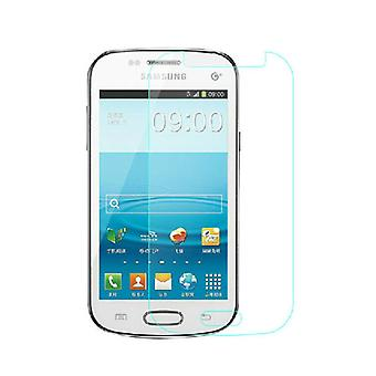 2 x-Samsung Galaxy S Duo 2 S7582 / trend plus S7580 / S duo S7562 / trend 7560 screen protector 9 H 0,33 mm tynd lamineret glas pansrede glas