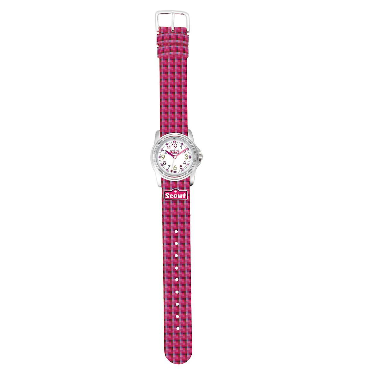 Scout Children clock learning clock Sweeties Girls pink 280301014