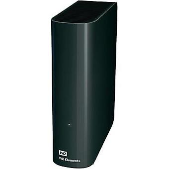 3.5 external hard drive 2 TB Western Digital Elements Black USB 3.0