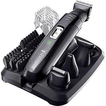 Body hair trimmer, Hair clipper, Beard trimmer Remington PG6130 GroomKit washable Black