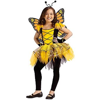 Ballerina Butterfly Fairy Pixie Sprite Dress Up Girl kostym