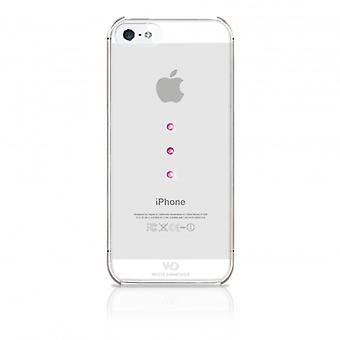 White DIAMONDS Shell iPhone 5/5s/SEE Ice Pink