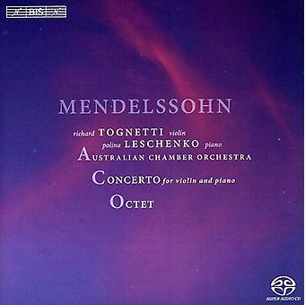 F. Mendelssohn - Mendelssohn: Concerto for Violin and Piano; Octet [SACD] USA import