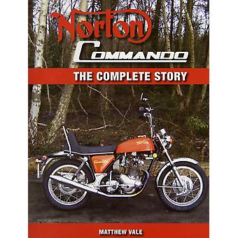 Norton Commando: The Complete Story (Crowood Motoclassic Series) (Hardcover) by Vale Matthew