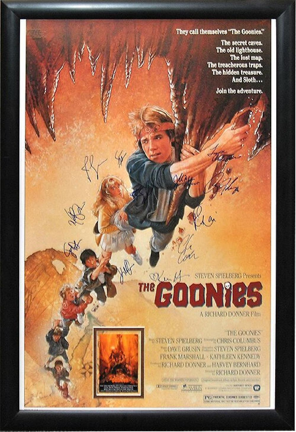 The Goonies Signed Movie Poster Fruugo