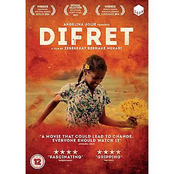 Difret [DVD] USA importerer