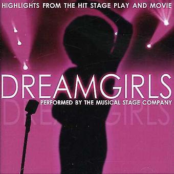 Dreamgirls - Dreamgirls: Musikalske højdepunkter fra ramte scenen spil og film [CD] USA import