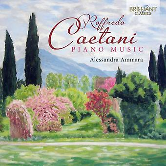 Caetani – Caetani: Piano Music [CD] USA import