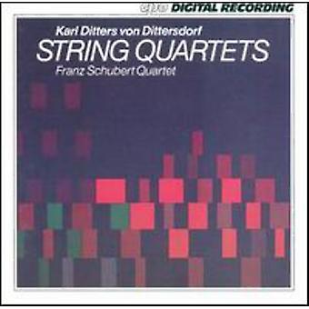 K.D.Von Dittersdorf - Karl Ditters Von Dittersdorf: strijkkwartetten [CD] USA import