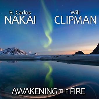 Nakai, R. Carlos & vil Clipman - Awakening brand [CD] USA importen