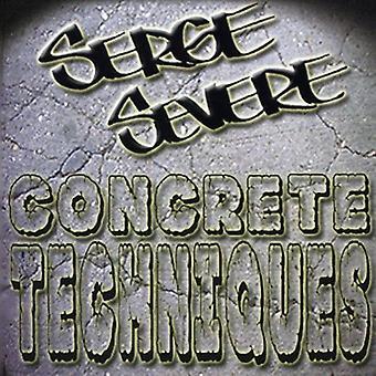 Serge svær - konkrete teknikker [CD] USA importerer