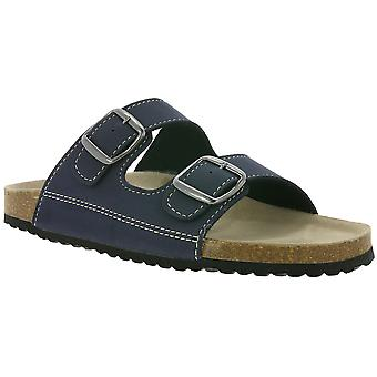 SUPER SOFT shoes slippers slippers organic slippers blue
