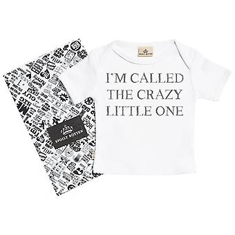 Spoilt Rotten Called The Crazy One Short Sleeve Baby T-Shirt