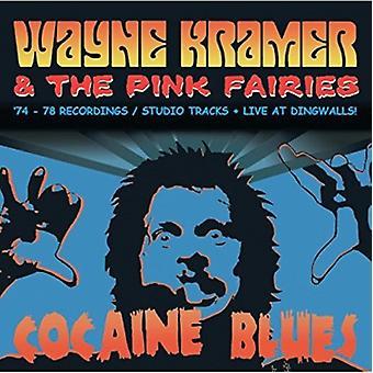 Wayne Kramer & lyserøde feer - kokain Blues (74-78 optagelser/Studio spor / Live på Dingwalls) [CD] USA import