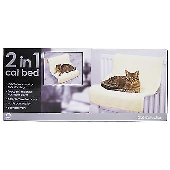 Rosewood Luxury 2 In 1 Cat Bed