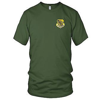 USAF luftforsvar - 15 Air Base Wing brodert Patch - Mens T-skjorte
