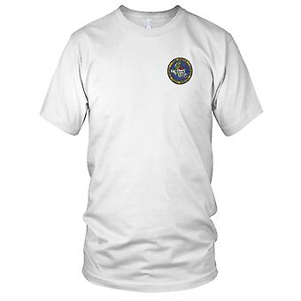 US Navy djupa nersänkning fordonet Turtle Version A broderad Patch - Mens T Shirt