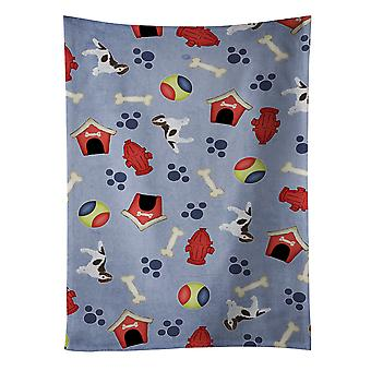 Perro casa colección Springer Spaniel toalla de cocina