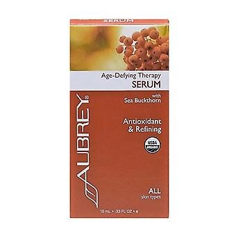 Aubrey Organics, Age-Defying Therapy Serum, 10ml