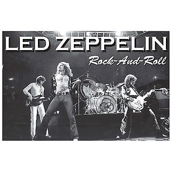 LED Zeppelin Rock N Roll Rock And Roll 2 Poster Poster Print