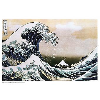 Hokusai The Great Wave Poster Poster Print