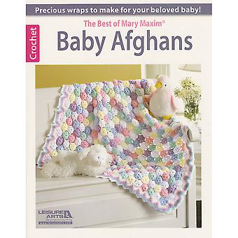 Leisure Arts Baby Afghans The Best Of Mary Maxim La 6187