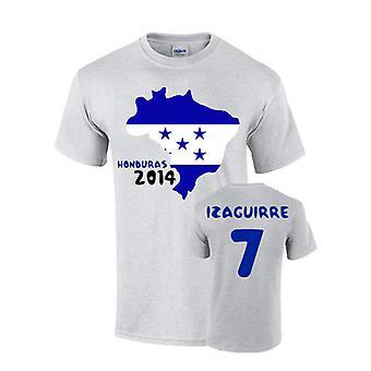 Honduras 2014 land flagga T-shirt (izaguirre 7)