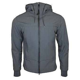 CP Company Grey Soft Shell Goggle Jacket