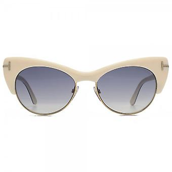 Tom Ford Lola Sunglasses In Ivory