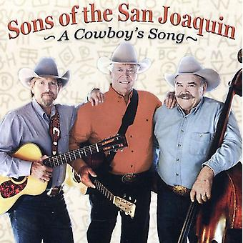 Sønner af San Joaquin - Cowboys sang [CD] USA import